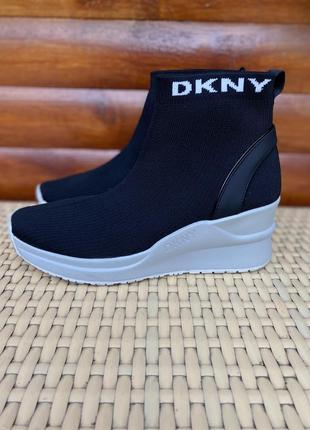 Dkny кроссовки хайтопы оригинал  38 размер