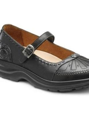 Комфортные кожаные туфли мэри-джейн