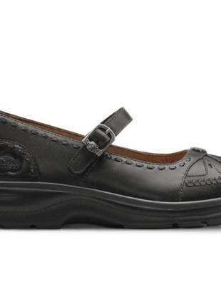 Комфортные кожаные туфли мэри-джейн3 фото