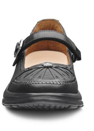 Комфортные кожаные туфли мэри-джейн4 фото
