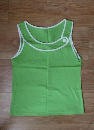 Блуза блузка майка футболка топ ozkan underwear натуральная 100% хлопок