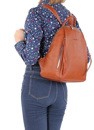 Рюкзак коричневый david jones см5848т 5848