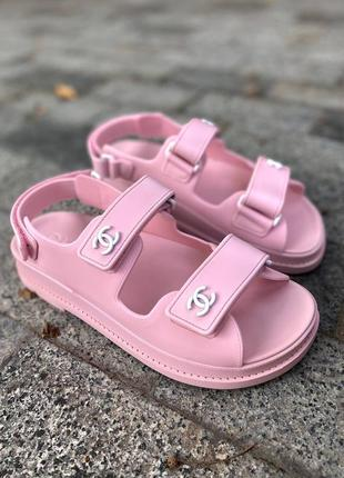 Sandals pink женские сандали розовые