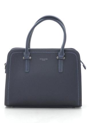 David jones сумка синяя темная классическая 4013 cm4013 cm4013t