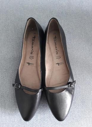 Натуральная кожа туфли лодочки