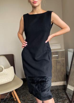 Шерстяное платье с альпаки от max mara оригинал