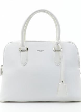 Женская сумка david jones белая классическая 5349 cm5349t