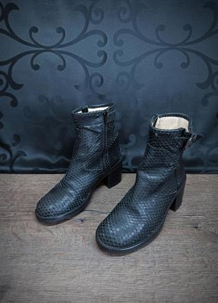 Ботинки semerdjian 38p (25cm) italy ykk2 фото