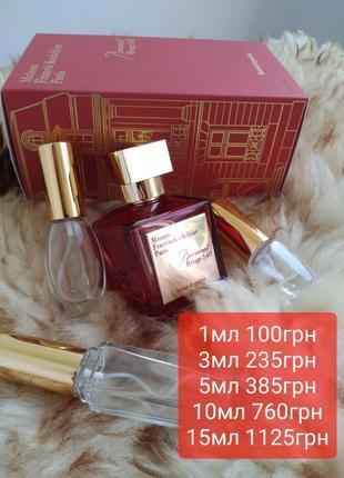 🍓оригинал🍓baccarat rouge 540 экстракт парфюм на распив духи отливант