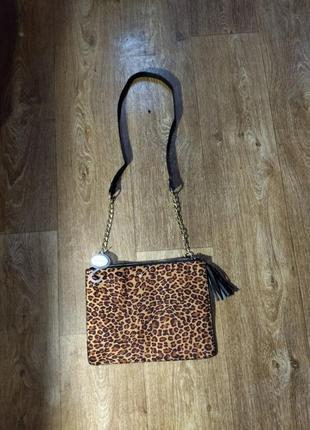 Трендовая сумка леопардовый принт
