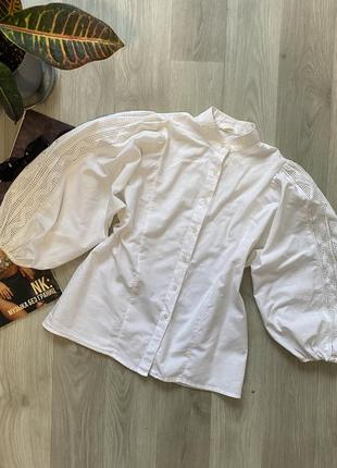 Натуральная винтажная рубашка