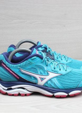 Яркие беговые кроссовки mizuno wave inspire 14, размер 35