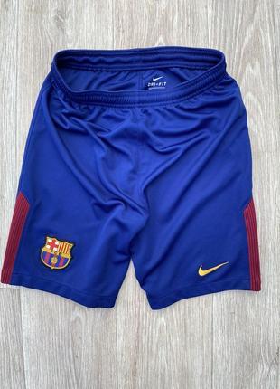 Футбольные шорты детские nike barcelona оригинал