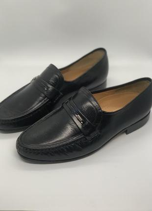 Мужские кожаные туфли лофер 43р