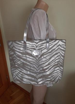 Пляжеая сумка шоппер michael kors