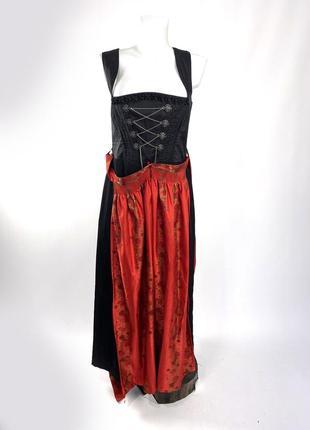 Платье этно country line, октоберфест