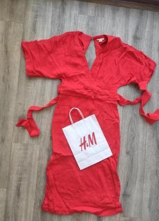Платье h&m пог 45 пот 42 длина 116