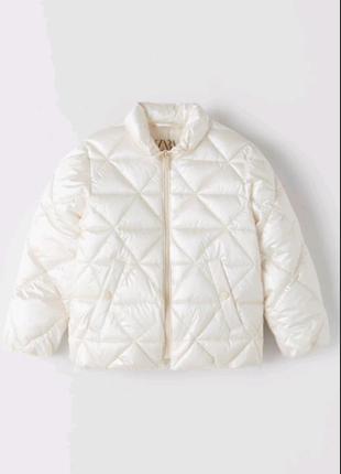 Куртка для дівчинки zara 164 краще на 158