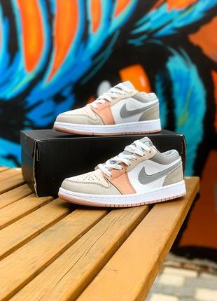 Nike air jordan 1 low кроссовки найк джордан женские