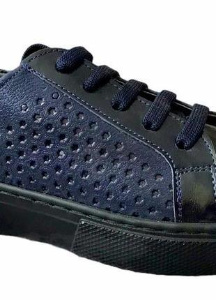 Кожаные туфли для девочек размеры 31-35