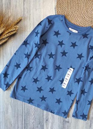 Реглан звезды футболка с длинным рукавом