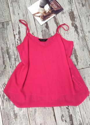 Dorothy perkins чудесная ярко-розовая блуза на бретелях