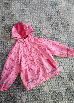 Куртка-дощовик на дівчинку 6-7років