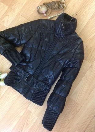 Тёплая куртка zara 🌹