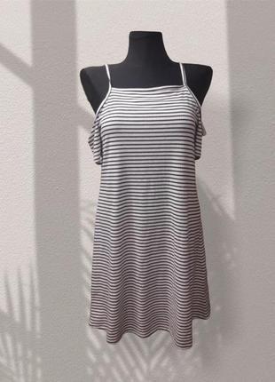 Платье в полоску / тельняшка