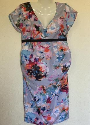 Летнее нарядное платье для беременной