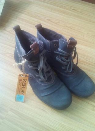 Мужские ботинки replay оригинал!