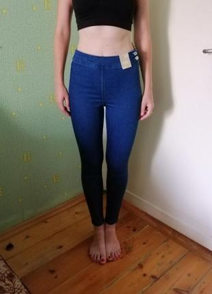 Новые джинсы skinny с высокой посадкой sinsay. новые джинсы. джинси.