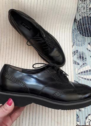 39 австрия кожаные туфли бренд