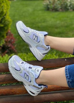 Женские кроссовки new balance 530 white/silver жіночі кросівки