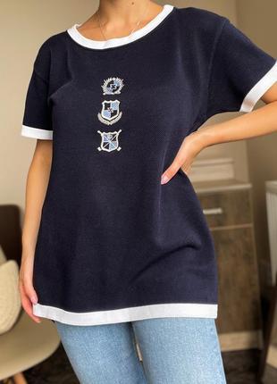 Хлопковая футболка escada оригинал