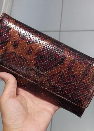 Женский кожаный кошелек karya 1094