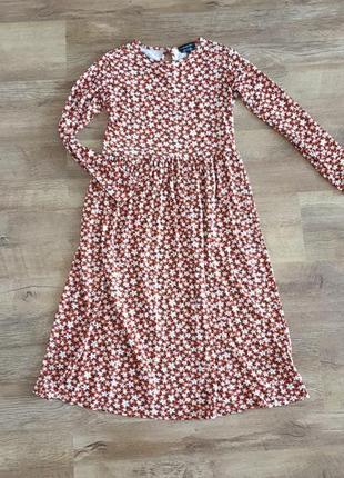 Платье в цветочек wednesday girl как zara