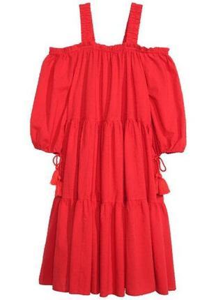 Летнее красивенное платье хлопок