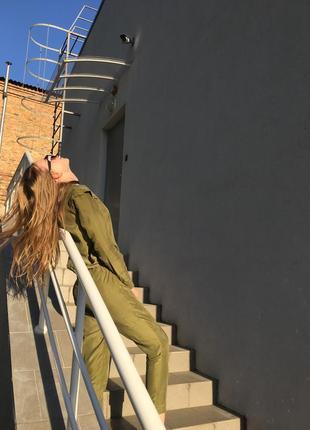 Костюм женский тренд richmond хаки зелёный
