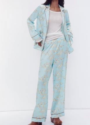 Женский костюм пижама zara