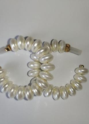 Брендовые жемчужный серьги кольца / серьги кольца с жемчугом