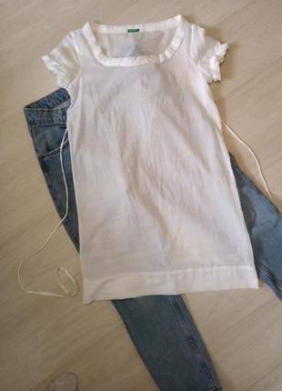 Мини-платье, блуза benetton