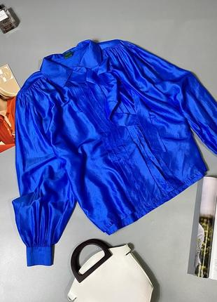 Шикарная блуза 100%шёлк
