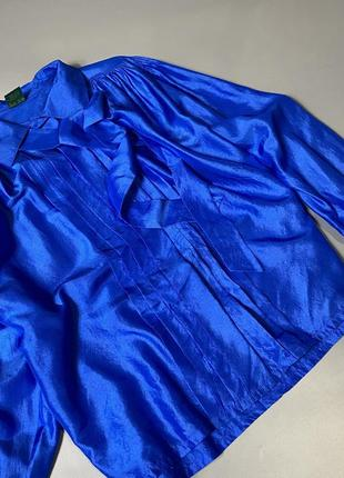 Шикарная блуза 100%шёлк2 фото