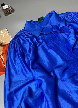 Шикарная блуза 100%шёлк3 фото