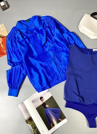 Шикарная блуза 100%шёлк5 фото