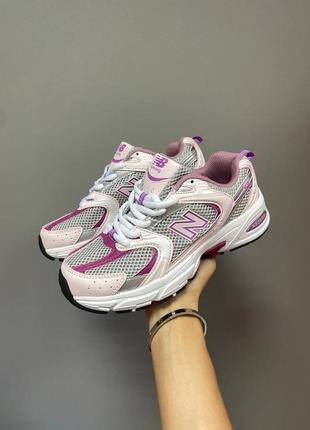 New balance 530 pink женские кроссовки