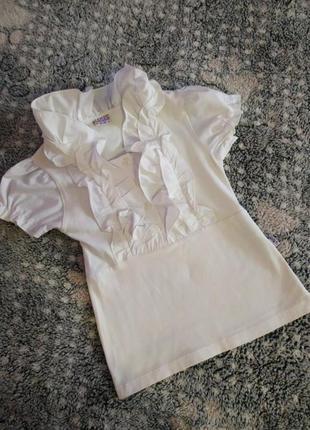 Нарядна блузка на 7-8років