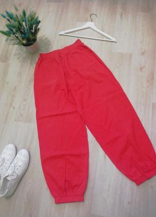 Лёгкие штаны высокая посадка