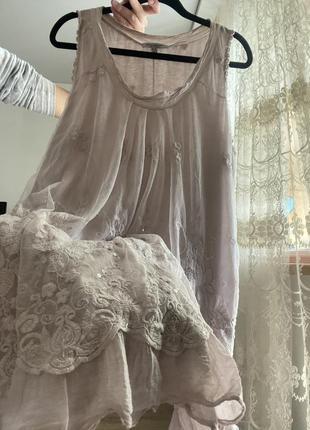 Платье туника ночнушка сукня туніка